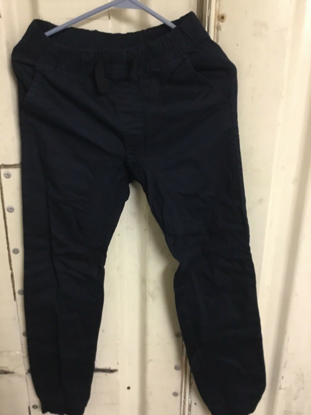 Primary image for Southpole Boys' Big Jogger Pants in Basic Stretch Twill Fabric Navy Blue Medium