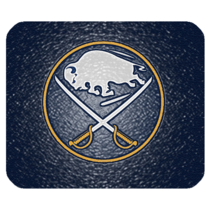 Mouse Pad The Buffalo Sabres Logo Sports Professional Ice Hockey Team New York - $6.00