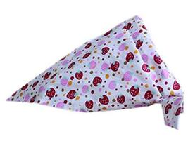 PANDA SUPERSTORE 2 Pieces of Fashionable Cute Pets Triangle Scarves/Headscarf, S