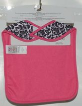Baby Ganz Girl Pink And Black Feather Like Print Matching Gift Set image 7
