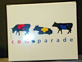 CowParade You Can't Have A Parade w/o A Clown Item # 9128 Westland Giftware (Res image 8