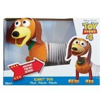 "Toy Story 4 Plush Slinky Dog Stretchable 12"" New In Box 18m+ Disney Pixa... - $39.55"
