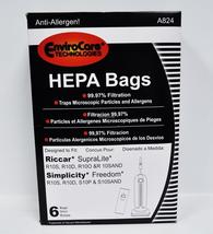 EnviroCare Replacement HEPA Vacuum Bags for Riccar R10S, R10D, R10O, & R10SAND - $15.95