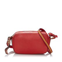Pre-Loved Chloe Red Others Leather Sam Crossbody Bag France - $326.32