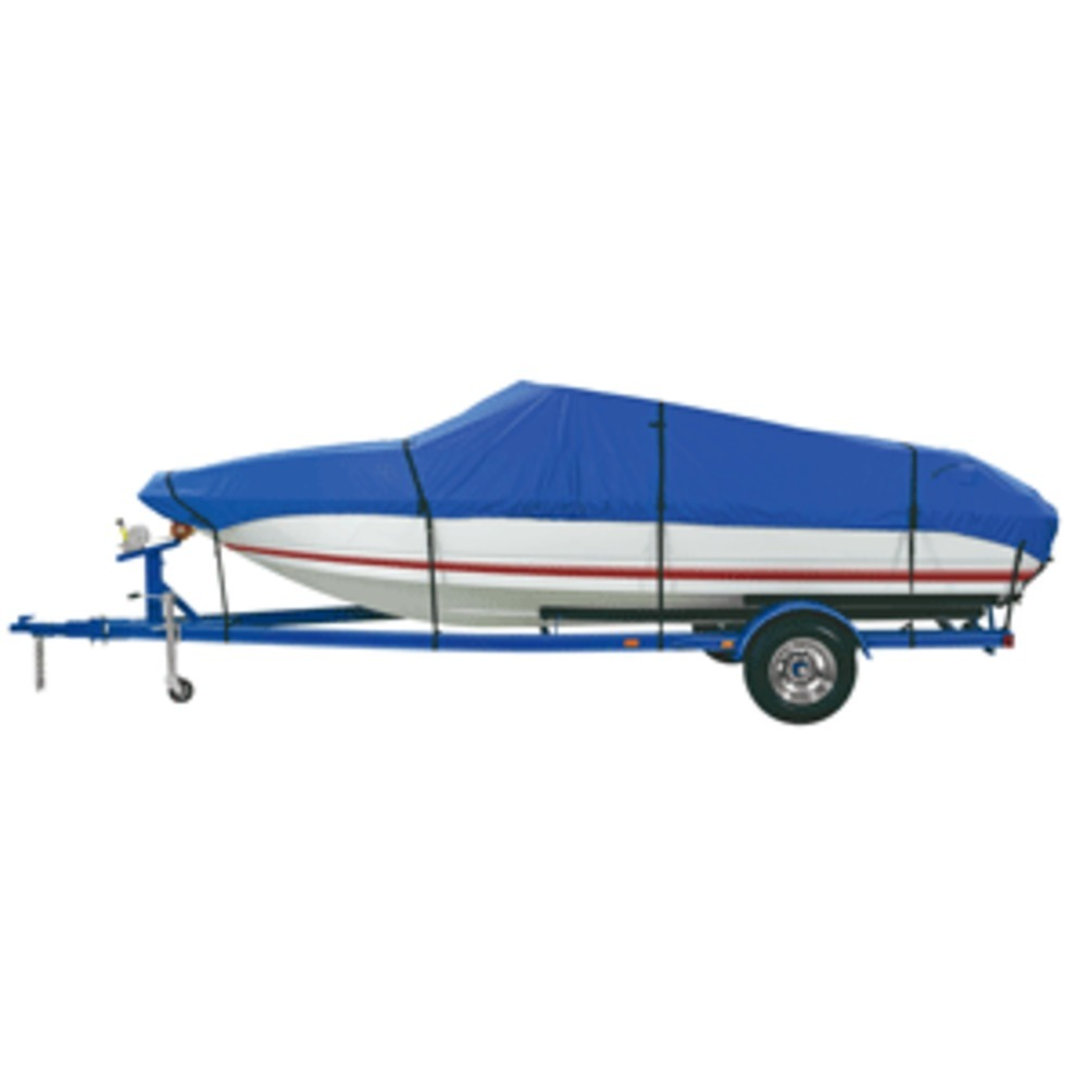 Dallas Manufacturing Co. Polyester Boat Cover B 14-16 V-Hull Tri-Hull Runabouts