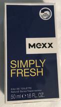 Mexx Simple Frais Eau de Toilette Spray pour Hommes, 1.6 Fl OZ Neuf - $17.75