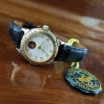 New Vintage Womens POLO Croc Embossed Leather Band Watch Beverly Hills Polo - $49.95