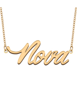 Nova Name Necklace for Best Friends Family Girl Friend Birthday Gifts - $13.99 - $15.99