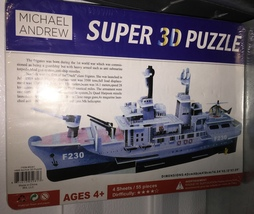 "NIP MICHAEL ANDREW Frigate Ship ""NORFOLK"" Super 3D Puzzle"