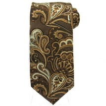 BILL BLASS Mens Tie - Large Paisley Textured Pattern - 100% Silk Necktie... - $14.00
