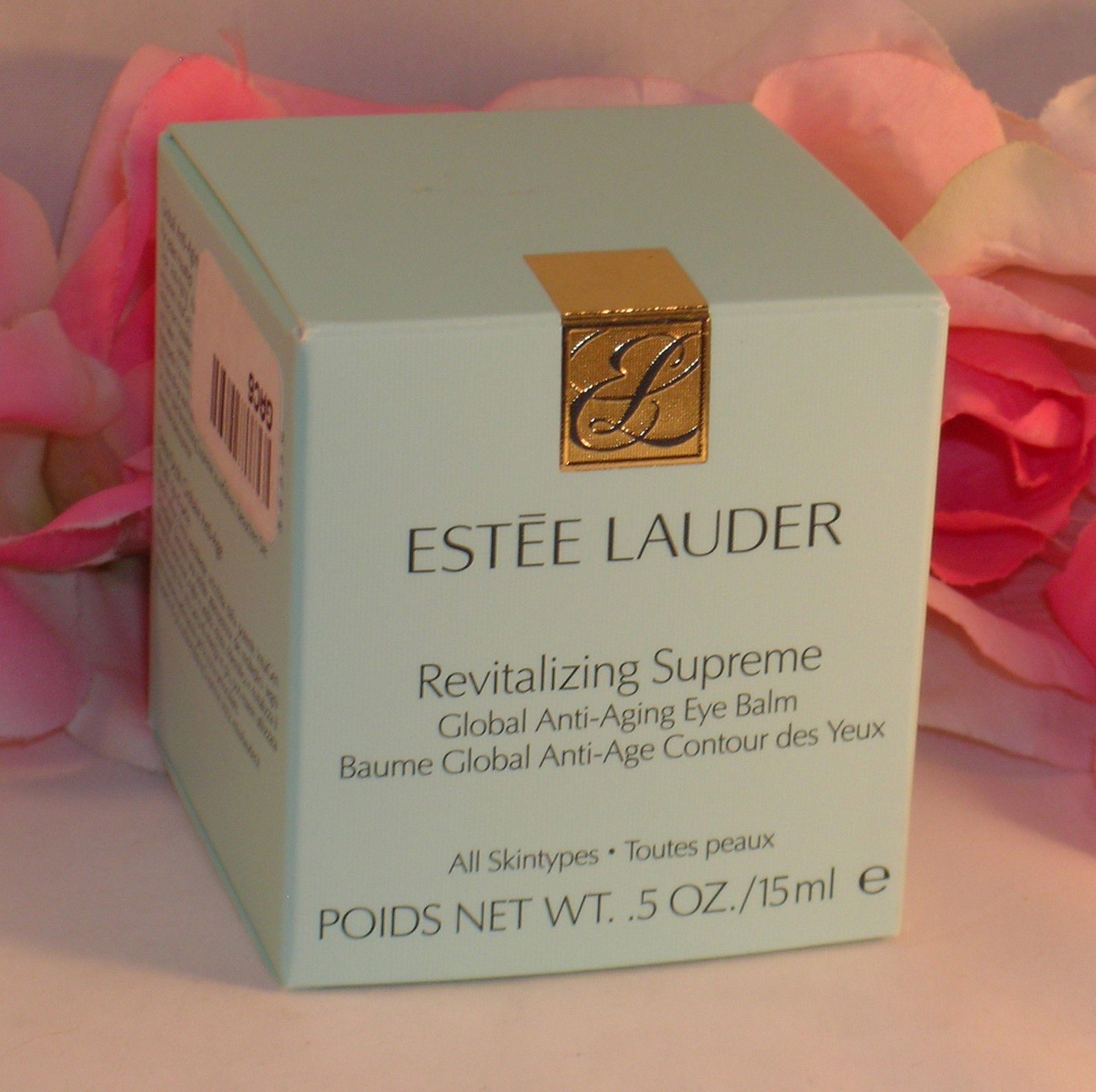 New Estee Lauder Revitalizing Supreme Global Anti Aging Eye Cream  .5 oz / 15 ml