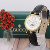 GUCCI Authentic Antique Vintage Moon Phase Watches Triple Calendar Wrist... - $399.99