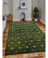 Rugsotic Carpets Hand Knotted Gabbeh Silk 10'x13' Area Rug Contemporary ... - $401.34