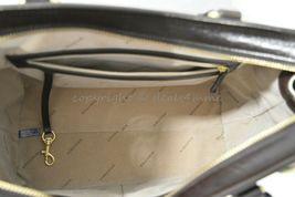 NWT Brahmin Schooner Smooth Leather Satchel/Shoulder Bag in Sand Westport image 9