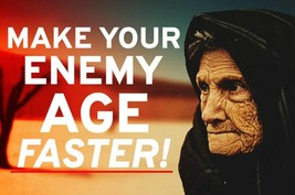 AGING REVENGE SPELL! MAKE THEIR LOOKS DECLINE! THEY WILL SUFFER! INTENSE... - $119.99
