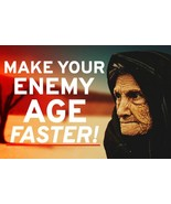 AGING REVENGE SPELL! MAKE THEIR LOOKS DECLINE! THEY WILL SUFFER! INTENSE... - $101.99