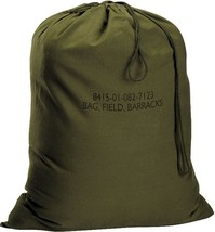 "Olive Drab Military Barracks Laundry Bag 18"" x 27"" - $11.99"