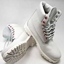 Timberland Blanco Serpent Hombre Size 8.5 Botas Impermeables 6-inch Limited - $3.561,74 MXN