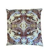 Banke Kuku Delta Collection Royal Decorative Pillow Mint Multicolour Small - $71.88