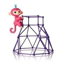 Fingerlings - Jungle Gym Playset + Interactive Baby Monkey Aimee Fingerl... - $60.78