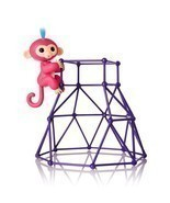 Fingerlings - Jungle Gym Playset + Interactive Baby Monkey Aimee Fingerl... - £43.60 GBP