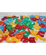 Alphabet Numbers Magnetic Lot Refrigerator Crafts School  - $18.37
