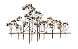 Tree of Life Metal Wall Sculpture - 39 Inches Wide x 24 Inches High Meta... - $64.06