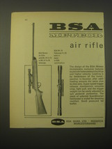 1965 BSA Meteor Air Rifle and Mk. IV Telescope Advertisement - $14.99