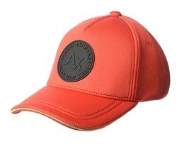 Armani Exchange AIX Men's Circle Logo Patch Baseball Hat Cap in Pappy Re... - €44,00 EUR