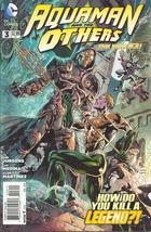 (CB-12} 2014 DC Comic Book: Aquaman & The Others #3 - $2.00