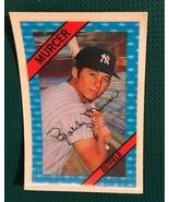 1972 Kellogg's 3-D Super Stars #16 Bobby Murcer  Yankees Baseball Card - $14.80