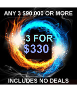 FRI-SUN PICK 3 $90,000 OR MORE FOR $330 INCLUDES NO DEALS MYSTICAL TREASURE - $0.00