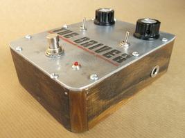 Free ship! Fuzz pedal, handmade overdrive feedbacker guitar pedal. 8 bit... - $50.00