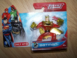 Justice League Batman PVC Figure Red Gold DC Comics New Target Exclusive... - $12.00