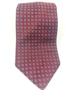 Brooks Brothers Makers Men's Neck Tie 100% Silk Burgundy Red Floral Made... - $17.45