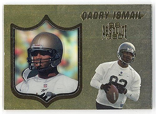 1998 Playoff Absolute Hobby Gold /25 Qadry Ismail $40 Beckett Value Rare Footbal