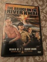 BRIDGE ON THE RIVER KWAI Classic Dvd - $5.00