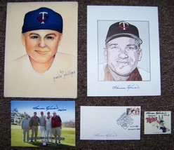 Harmon Killebrew Signed Autographed Baseball Photo Collection From His E... - $98.95