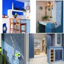 Waterproof Crystal 3D Mosaic Tiles Wall Sticker for Bathroom Decor - $52.52