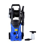 1800W 2030PSI Electric Pressure Washer Cleaner with Hose Reel-Blue - $120.77