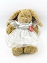 "BUILD-A-BEAR Vintage Brown Bunny Rabbit 17"" Plush 1997 w/ Fairy Princess... - $29.99"