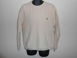 Chaps / Ralph Lauren Cream Chevron Sweater Sz L/XL - $9.99