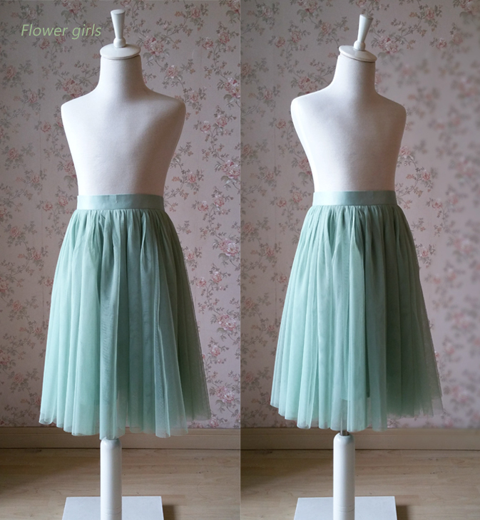 Flowergirl skirt mix 2