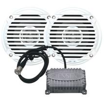 JENSEN CPM50 Bluetooth Amplifier Package w/JAHD240BT 80W, 2-Channel Blue... - $124.80