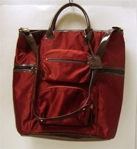 Liz Claiborne Brown & Burgundy Purse - $40.00