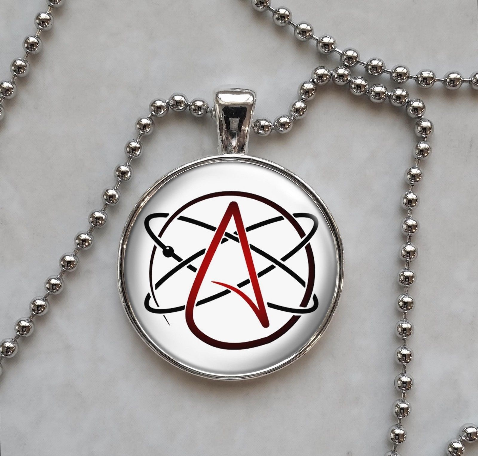 Atheist Molecule Atom Symbol Skeptic Pendant And 50 Similar Items