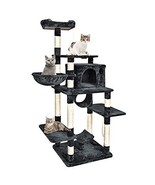 B BAIJIAWEI Big Cat Tree - Cats Condo Furniture Tower - Multi Level Cat ... - $120.42