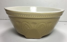 AT HOME AMERICA Farmhouse Homestead Pottery Mixing Bowl EUC 8x9.25x4 - $12.26