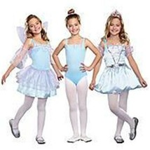 New Kids Girl Totally Ghoul 3 In 1 Enchanted Beauties Costumes S 4-6 Dress Up - $14.44