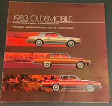 1983 Oldsmobile Toronado Ninety-Eight  Delta 88 Custom Cruiser Sales Bro... - $10.62